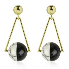 Capture style with the Apogee earrings from the Orbit Collection! #Orbit #Collection #NEW #Online #Now #nOirJewelry #NYC