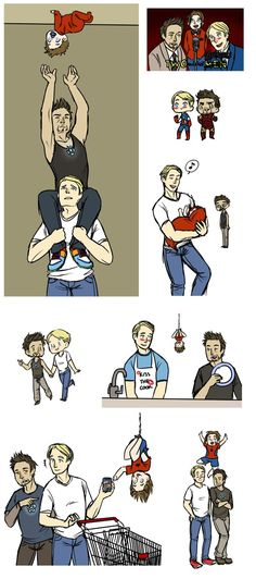 superfamily | Superhusbands/Superfamily dump by Jakie-boi on deviantART