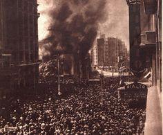 Se conoce como quema de conventos a la ola de violencia anticlerical contra edificios e instituciones de la Iglesia Católica, ocurrida entre los días 10 y 13 de mayo de 1931 en España, pocas semanas después de haberse proclamado la Segunda República.. El convento de los jesuitas de la calle de la Flor ardiendo el 11 de mayo de 1931.