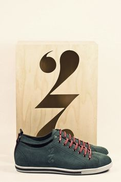 quality design 80d44 16e22 Sneaker Shoe No.1 on the Behance Network Typographie, Emballage, Marques  Premium