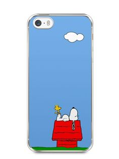 Capa Iphone 5/S Snoopy #3 - SmartCases - Acessórios para celulares e tablets :)