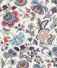 Liberty Art Fabrics Mabelle A Tana Lawn | Fabric by Liberty Art Fabrics | Liberty.co.uk