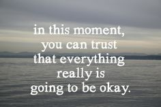 I know this one can be really hard some times but try it. :: everything will be okay Art Print