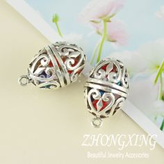 Find More Pendants Information about Cheap Wholesale accessories 23*35mm Antique Silver Filigree Oval Ball Brass Cage Pendant Pearl Cage Sea Glass Lockets 10pcs/lot,High Quality accessori,China accessories bag Suppliers, Cheap accessories cuff from Fashion Jewelry Super Market on Aliexpress.com