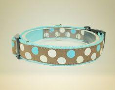 Obroża dla psa Candy blue - OssoDiCane - Obroże dla psów