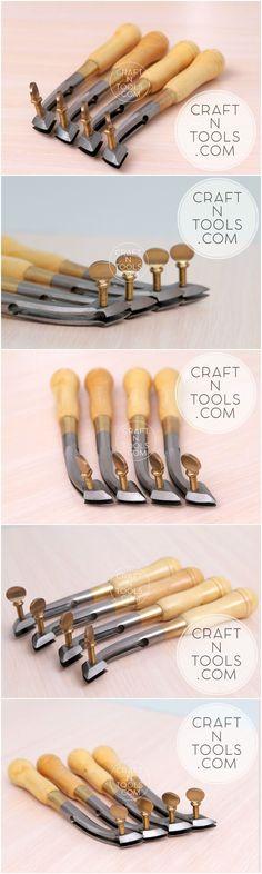 New Vergez Blanchard Adjustable Edge Creaser. Leather marking tool …