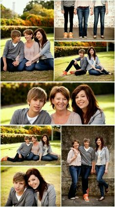 Family of 3 picture idea