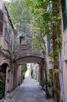 Narrow Street of Old
