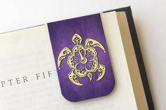 Turtle Bookmark Aloha Gift Magnetic Bookmark Laminated