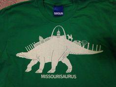 Raygun Missourisuarus shirt