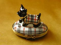 Scottish Terrier Burberry - Rochard limoges