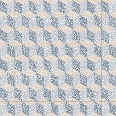 Carrelage imitation ciment 30x30 cm Cavour Azul anti-dérapant R10 - 0,99m²