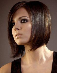 20+ Popular Black Short Hairstyles for Women 2012 Short Straight Bob Haircut Style – YusraBlog.com