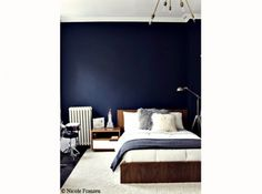 Navy Blue | Colour | Bedroom | Detail