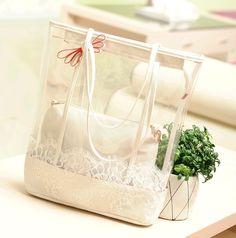 Handbags transparent women's handbag &fashion transparent shoulder bags