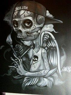 Sullen Art Collective artist Conrad from Peru