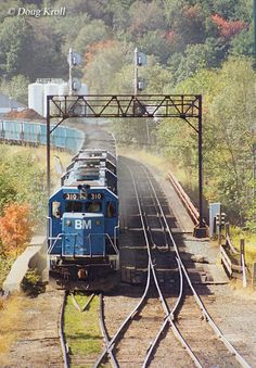 The Boston and Maine Railroad known as the Route Of The Minute Man was an important New England line for more than 170 years.  Today, it remains on paper as part of Pan Am Railways.
