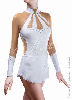 Leotardo # 164: Rítmica Gimnasia Leotardo, Figura vestido de patinaje sobre hielo, Gimnasia Acrobática de vestuario
