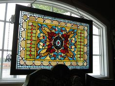 stained glass at gift shop