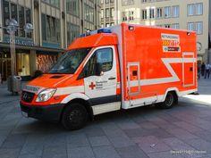 Deutsches Rotes Kreuz, Rettungsdienst @ Cologne, Germany