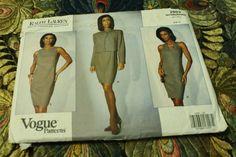 Vogue 2893 American Designer Ralph Lauren by EleanorMeriwether