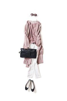 Transforming the Sweets color scheme into an adult mood / Coordination details / Kyoko Kikuchi's Closet Hijab Fashion, Fashion Outfits, Womens Fashion, Fashion Trends, Japan Fashion, Daily Fashion, Spring Summer Fashion, Winter Fashion, Mode Simple