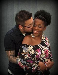 Beautiful interracial couple #love #ambw #bwam