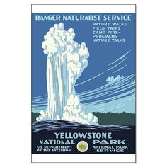 WPA Yellowstone poster