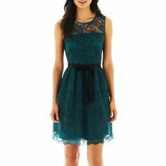 Danny & Nicole® Lace Dress - jcpenney