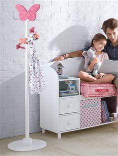 Superb Garderobenst nder Schmetterlinge von Vertbaudet in violett Nur uac Versand Babyzimmer jetzt bei Vertbaudet bestellen
