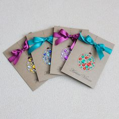 Diy Christmas Cards, Greeting Cards, Xmas, Presents, Drawings, Paper, Tableware, Illustration, Crafts