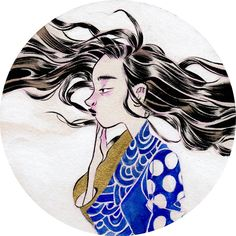 Leslie Hung, Waves, Acrylic