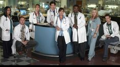 ER is about the work and lives of a group of emergency room doctors in Chicago. So many different characters in this show at different times and seasons. Great Tv Shows, Old Tv Shows, Shane West, Amblin Entertainment, Medical Photos, The Ellen Show, Medical Drama, Partridge Family, Boy Photography Poses