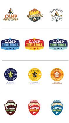 Kids Summer Camp Logo by Andra Gheorghe, via Behance