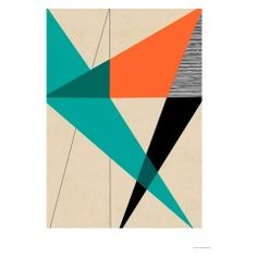 DIAGONAL UNITY 50 x 70cm print by Rocket 68