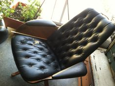 Reduced vintage lounge chair plycraft by vintagesnabbacash