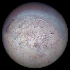 Triton, by Voyager 2