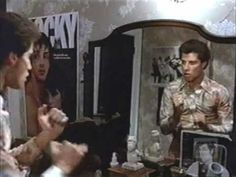 Some films use movie posters to help establish character: in Saterday Night Fever John Travolta has posters from Rocky, and of TV and film Farah Fawcett, on the wall of his room.