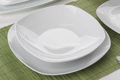 GIARDINO BIAŁA KORONKA Serwis obiadowy 41/12 – Świat AGD (439) Plates, Tableware, House, Licence Plates, Dishes, Dinnerware, Griddles, Home, Tablewares