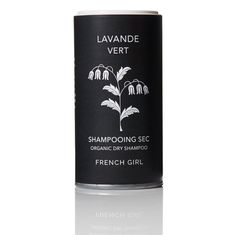 This dry shampoo combines natural herbs for hair and scalp health into a lovely lavender scented formula to cleanse and refresh hair in