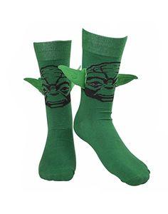 Star Wars Socken -39/42- Yoda mit Ohren