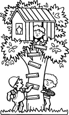 Tree House Coloring Pages Printable - Tree House Coloring Pages Printable , Johanna Basford Coloring Pages Magical Jungle House Colouring Pictures, Coloring Pictures For Kids, House Colouring Pages, Coloring Book Pages, Coloring Pages For Kids, Kids Colouring, Online Coloring For Kids, Online Coloring Pages, Free Printable Coloring Pages