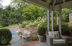 Terrace Garden — Falkner Gardens Inside Pool, Relax, Terrace Garden, Exterior, Landscape, Outdoor Decor, Home Decor, Courtyards, Brick