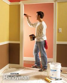 10 Interior House Painting Tips & Painting Techniques for the Perfect Paint Job - Article | The Family Handyman