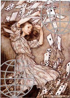 Arthur Rackham, Alice in Wonderland