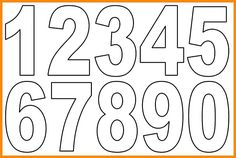 7 Best Images of Free Printable Alphabet Letters To Print Numbers - Small Alphabet Letters Printable PDF, Free Printable Letters and Numbers and Free Printable Numbers 1 10 Numbers 1 10, Numbers For Kids, Letters And Numbers, Number 0, Number Template Printable, Number Templates, Applique Templates Free, Small Alphabet Letters, Printable Alphabet Letters