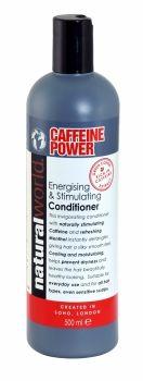 NATURAL WORLD CAFFEINE POWER ENERGISING & STIMULATING CONDITIONER 500ML