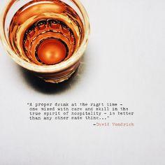 There are very few things I enjoy more than sharing whiskey or making drinks for the few I hold dear.Cheers.