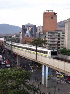 Metro de Medellin, Antioquia, Colombia
