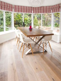 Kahrs Oak Saw White - a stunning new on-trend wood floor, that's incredibly durable and eco-friendly too.
